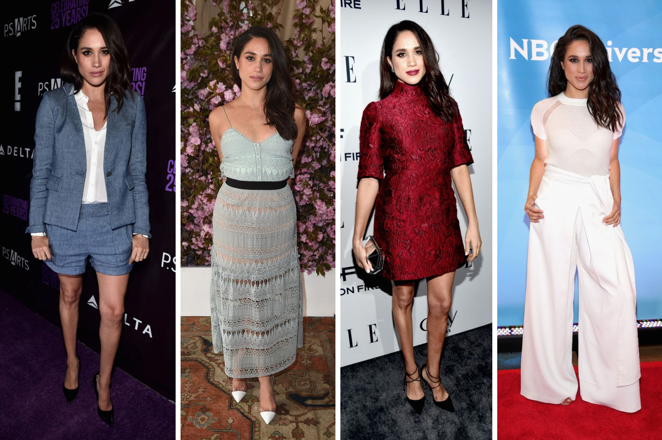 Not quite Vogue: Meghan Markle gets her glam on for Good ...