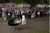 """<p>The Palace goes to extreme measures to ensure that the youngest members of the <a href=""""https://www.insider.com/royal-bodyguard-prince-harry-meghan-markle-threats-royal-life-2019-11"""" rel=""""nofollow noopener"""" target=""""_blank"""" data-ylk=""""slk:royal family are safe"""" class=""""link rapid-noclick-resp"""">royal family are safe</a>. Not only do they have <a href=""""https://www.romper.com/p/does-prince-george-have-a-bodyguard-at-school-security-for-the-royal-family-is-extensive-9279140"""" rel=""""nofollow noopener"""" target=""""_blank"""" data-ylk=""""slk:individual security details"""" class=""""link rapid-noclick-resp"""">individual security details</a>, but in 2015 they issued an <a href=""""https://www.cosmopolitan.com/entertainment/celebs/a20966559/royal-family-children-privacy/"""" rel=""""nofollow noopener"""" target=""""_blank"""" data-ylk=""""slk:unprecedented statement"""" class=""""link rapid-noclick-resp"""">unprecedented statement</a> reprimanding the press for deceitful tactics. </p>"""