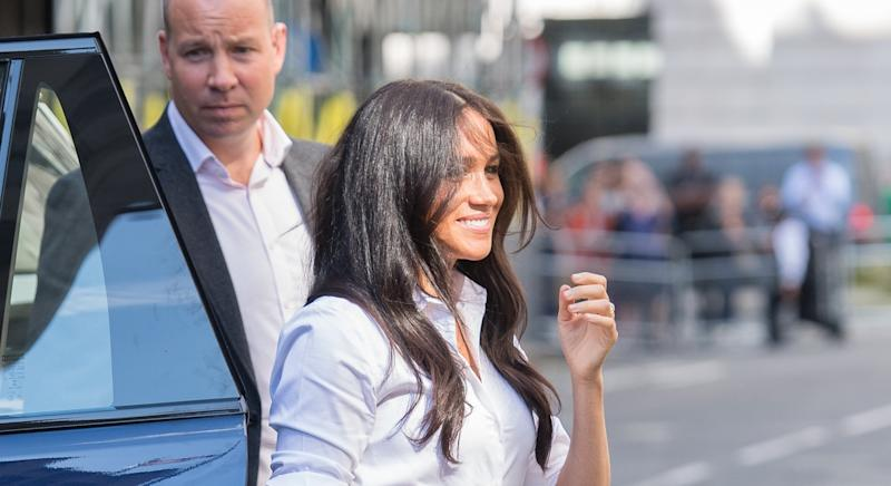 Meghan Markle was shadowed on Suits set by 'MI5 guy' before Prince Harry engagement [Image: Getty]