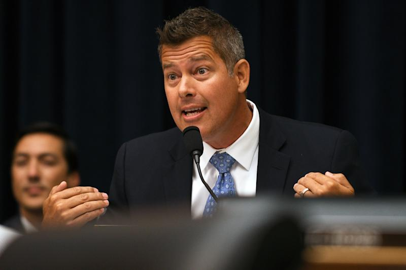 Rep. Sean Duffy, R-WI at the Rayburn House Office Building in Washington in 2018. (Photo: Mary F. Calvert/Reuters)