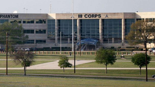 PHOTO:  The III Corps Headquarters is seen on the Fort Hood Army Base in Texas, April 3, 2014. (Joe Raedle/Getty Images, FILE)