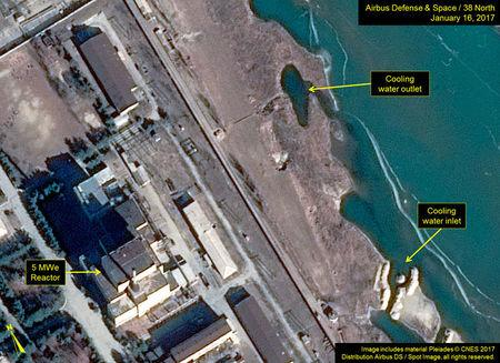 North Korea?s Yongbyon Nuclear Scientific Research Center is pictured in this handout satellite image