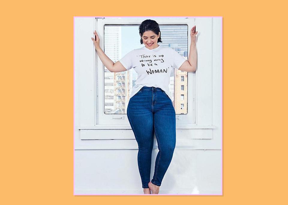 """<p><a rel=""""nofollow noopener"""" href=""""https://www.instagram.com/denisebidot/"""" target=""""_blank"""" data-ylk=""""slk:Denise Bidot"""" class=""""link rapid-noclick-resp"""">Denise Bidot</a>, model and creator @nowrongwaymovement<br><strong>Biggest shopping gripes: </strong>It's really not being able to try on the clothes I want to in store. There are so many high-end brands that carry extended sizing, but either they are in another section or online only. Also brands need to stay consistent in style and fit when they do go up in sizes. Plus-size women come in all shapes, so extending your size offerings is not as easy as just scaling up the straight size pattern; you need a fit model and time [put] into the design.<br><strong>Brands that get it right: </strong><a rel=""""nofollow noopener"""" href=""""https://www.goodamerican.com/"""" target=""""_blank"""" data-ylk=""""slk:Good American"""" class=""""link rapid-noclick-resp"""">Good American</a> — they have inclusive sizing, and there is no change in cut or fit based on size. Also their ads feature a diverse group of women and it's all made in America. Dolce & Gabbana is another. Their advertising has been so on point lately, and they recently featured a plus-size girl on the catwalk in Milan. <a rel=""""nofollow noopener"""" href=""""http://www.lanebryant.com/"""" target=""""_blank"""" data-ylk=""""slk:Lane Bryant"""" class=""""link rapid-noclick-resp"""">Lane Bryant</a> has been fearless in their marketing, getting me into <a rel=""""nofollow"""" href=""""https://www.yahoo.com/style/sports-illustrateds-swimsuit-issue-is-an-ode-to-curvy-women-000045162.html"""" data-ylk=""""slk:Sports Illustrated, unretouched;outcm:mb_qualified_link;_E:mb_qualified_link;ct:story;"""" class=""""link rapid-noclick-resp yahoo-link""""><em>Sports Illustrated</em>, unretouched</a>. They really respond to and inspire their consumer, which I think we need more of.<br>(Photo: Denise Bidot) </p>"""