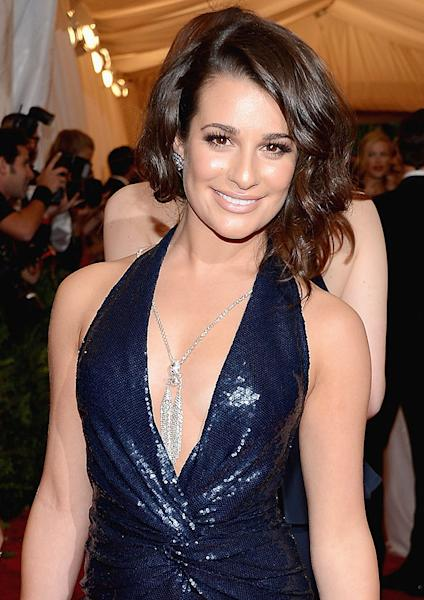 Lea Michele Debuted A Smoky Copper Eye For The 2012 Met Gala—Get Her Exact Look
