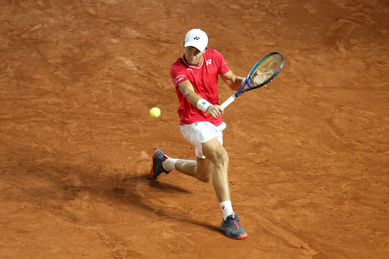 Fognini tests positive for COVID-19