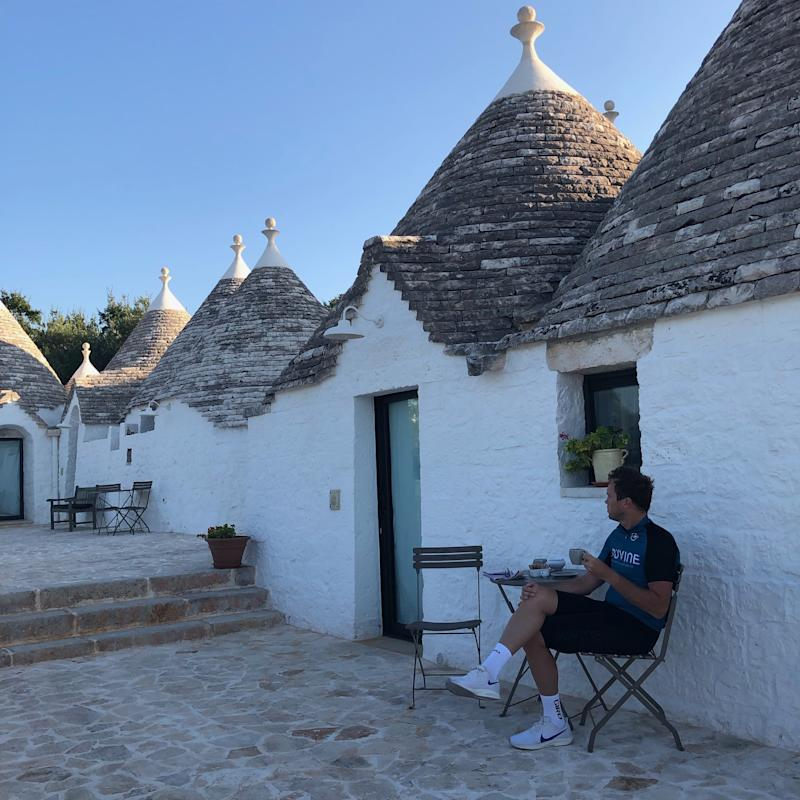 Espresso amidst the trulli