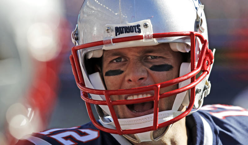 Tom Brady played well against the Panthers, but the Patriots still fell to 2-2. (AP)