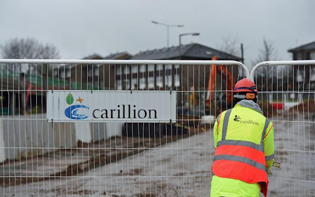 Carillion's troubles had been rumoured for many months before its dramatic collapse into liquidation - PA