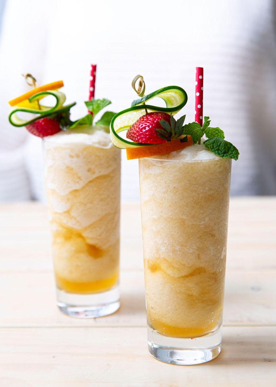 """<p>How pretty is that garnish?</p><p>Get the recipe from <a href=""""https://www.delish.com/cooking/recipe-ideas/a32784166/frozen-pimms-cup-recipe/"""" rel=""""nofollow noopener"""" target=""""_blank"""" data-ylk=""""slk:Delish"""" class=""""link rapid-noclick-resp"""">Delish</a>.</p>"""
