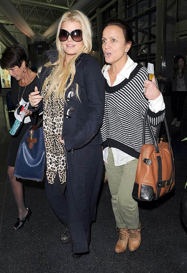 "<em>OK!</em> reports Jessica Simpson's been ""betrayed"" by Eric Johnson, who's refusing to marry her unless she throws out their existing prenup. The mag says Johnson's ""insisting on an equal share"" of her billion-dollar empire and is using her desire to wed before the baby's born as a ""bargaining chip."" For what she's surprisingly going to do, see what a Simpson pal reveals to <a href=""http://www.gossipcop.com/jessica-simpson-prenup-problem-eric-johnson-prenuptial-agreement-issues-wedding/"">Gossip Cop</a>."