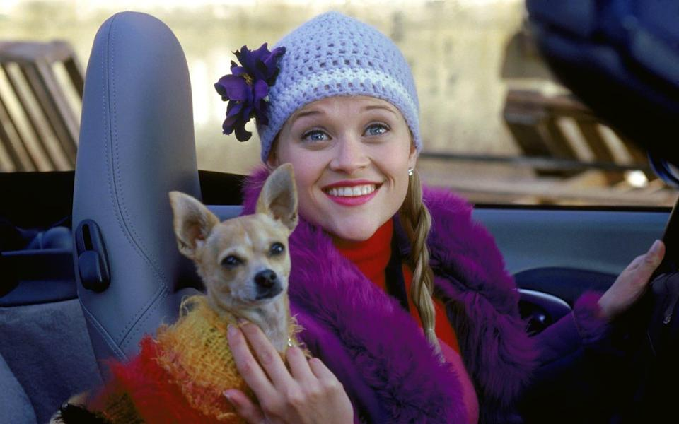 Witherspoon in Legally Blonde - Tracy Bennett