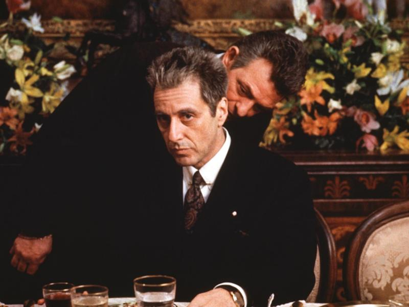 Al Pacino as Michael Corleone in 'The Godfather: Part III', released in 1990Paramount