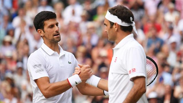 The ATP Finals draw pitted Novak Djokovic and Roger Federer against each other in Bjorn Borg Group.