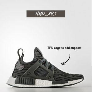 adidas NMD XR1 Primeknit Triple White The Sole WP Siren