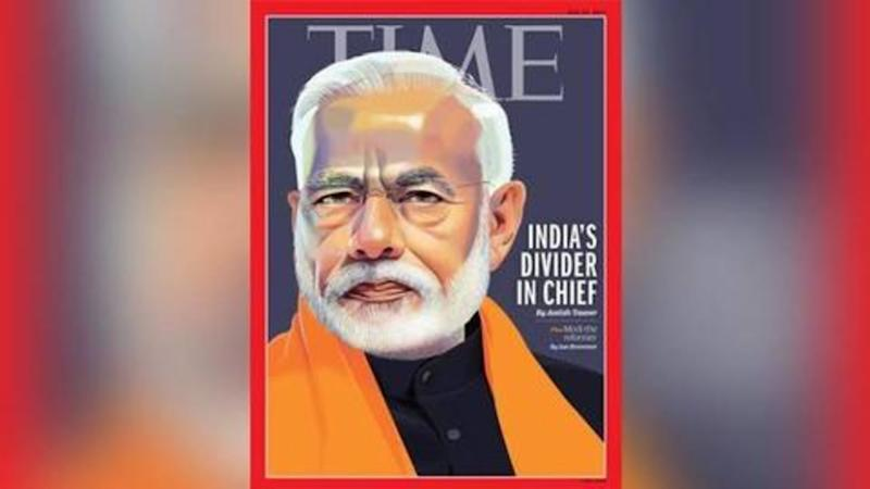 PM Modi responds to Time magazine