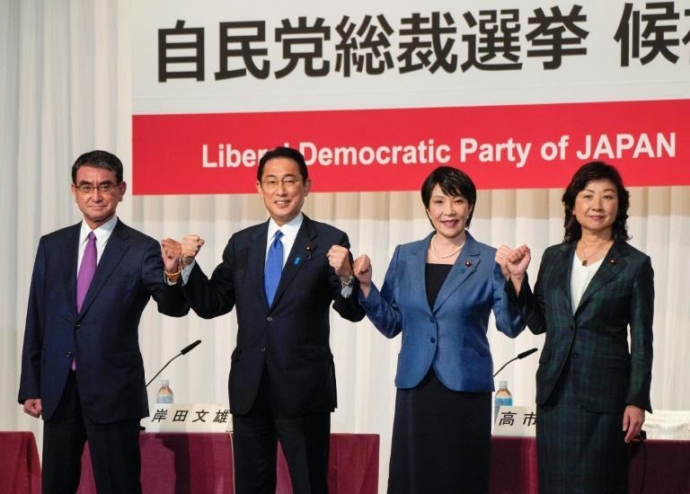 The Liberal Democratic Party (LDP) will vote for the country's next prime minister (AFP/Kimimasa MAYAMA)