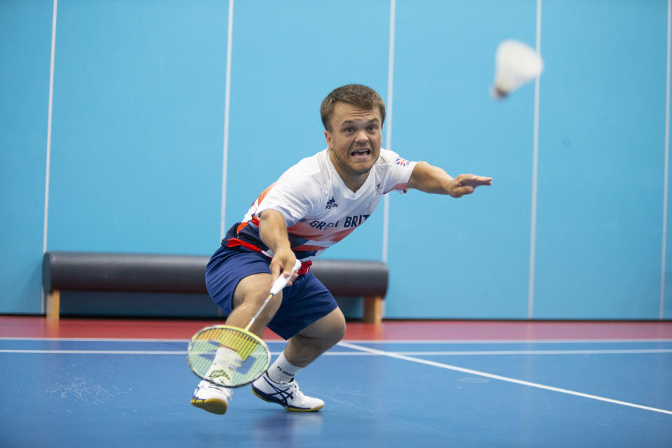 Jack Shephard fell in love with badminton before it was a Paralympic sport (Picture: imagecomms)