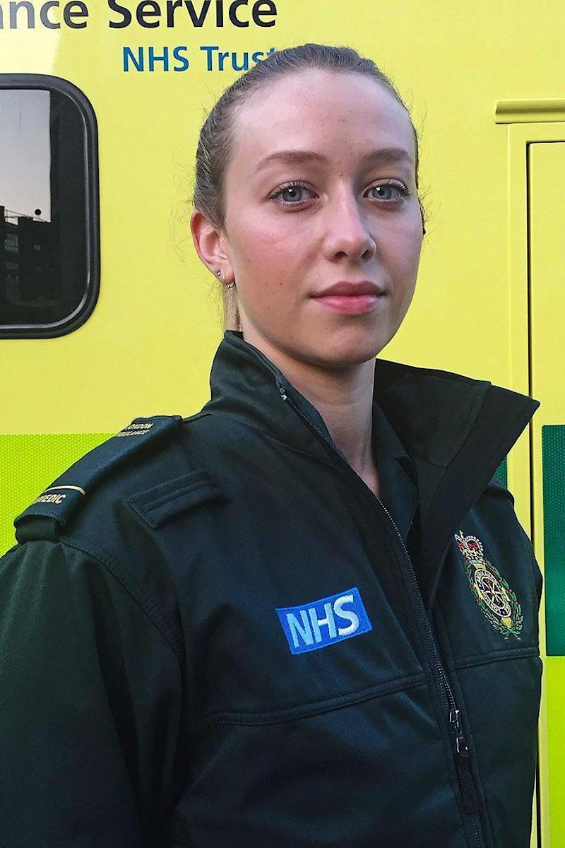 LAS paramedic Caitlin Fiddler has also been attacked