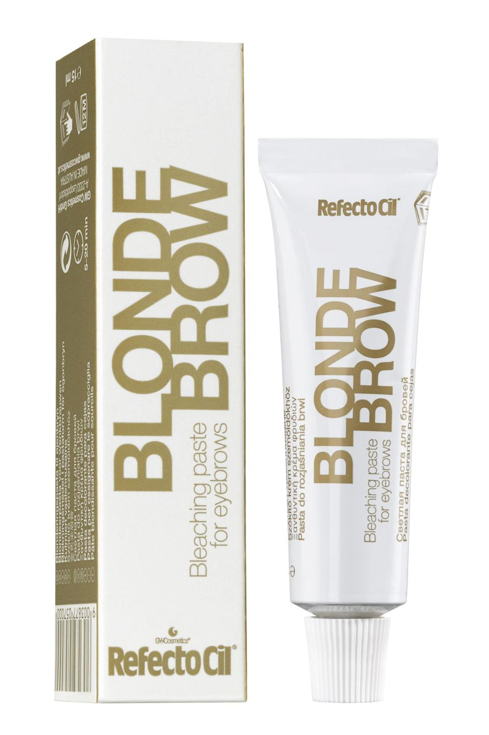 RefectoCil Blonde Brow Bleaching Paste, £9.99RefectoCil