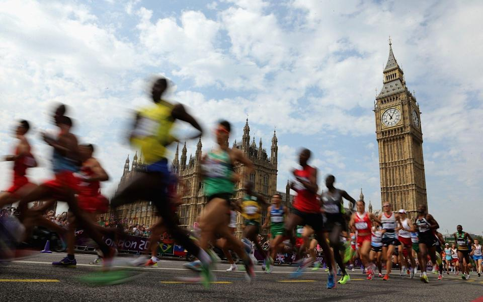 London Marathon 2021: What time is the race, what TV channel is it on and what is the weather forecast? - GETTY IMAGES