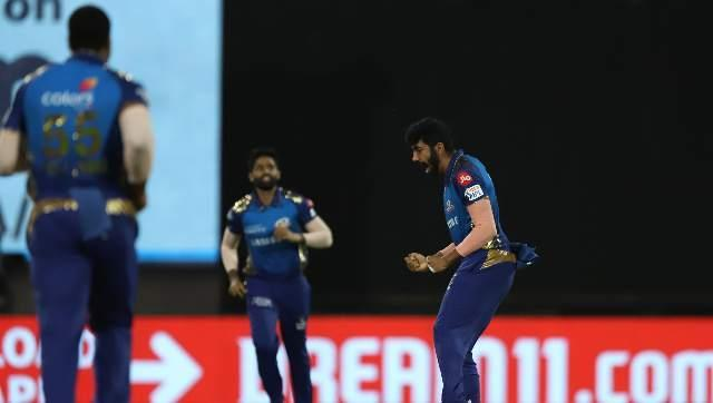 Jasprit Bumrah soon joined the party, seeing off Ambati Rayudu for just two runs. Bumrah ended with figures of 2/25. Sportzpics
