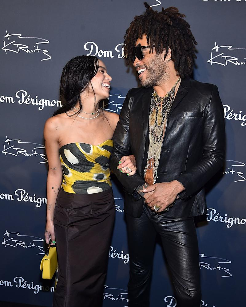 Lenny Kravitz's Last-Minute Speech Had Zoë Kravitz in Tears on Her Wedding Day