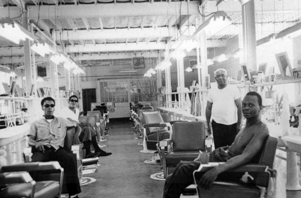 PHOTO: A barbershop inside the Ohio State Penitentiary, a facility torn down in the mid-1980s. (Courtesy of the Ohio History Connection)