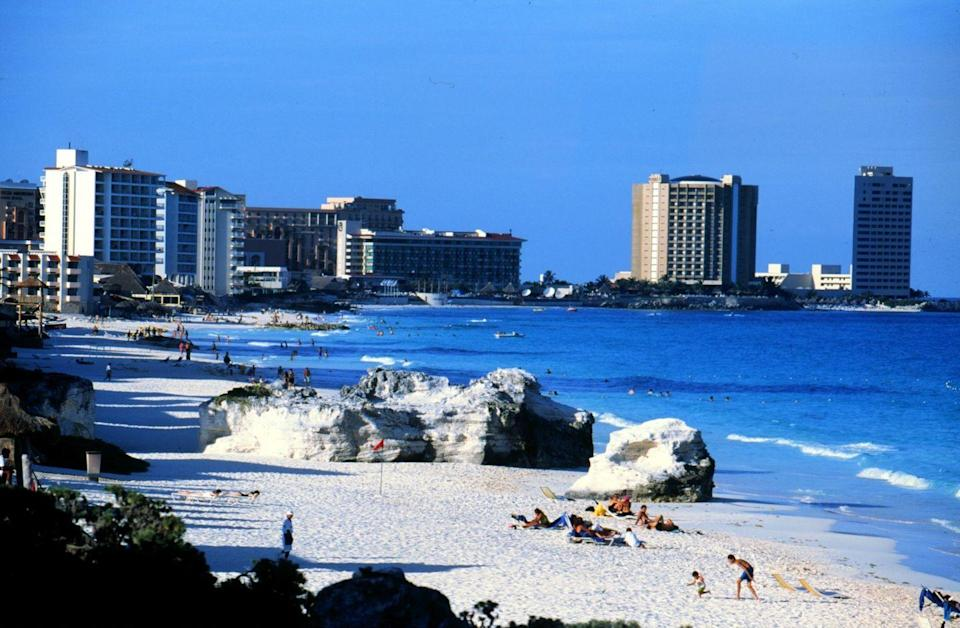 <p>Popular for college spring breakers, Cancun became the favorite vacation destination for anyone in college in 1998. </p>