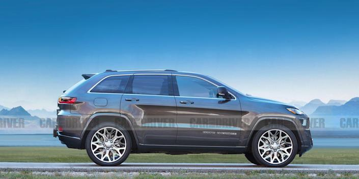 2021 Jeep Grand Cherokee Will Be New For The First Time In A Decade