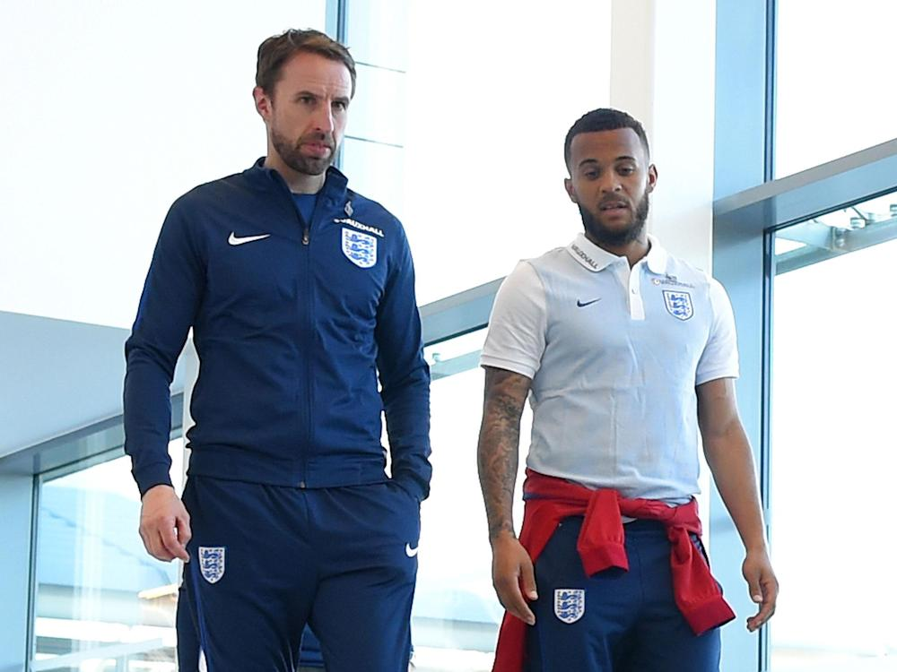 Ryan Bertrand has been impressed with what he's seen from the England manager: Getty