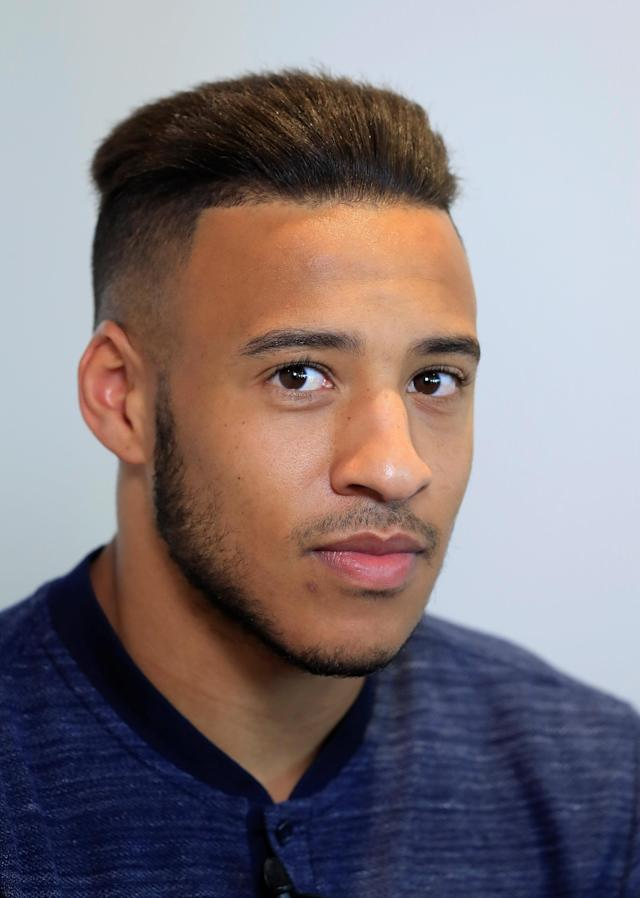 Soccer Football - FIFA World Cup - France Press Conference - Domaine de Montjoye, Clairefontaine, France - May 24, 2018 France's Corentin Tolisso during the press conference REUTERS/Gonzalo Fuentes