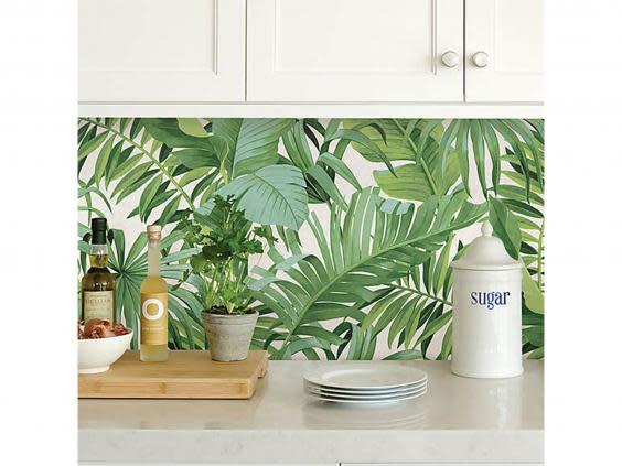 Self-adhesive wallpaper is a simple way to make a big change (Dunelm)