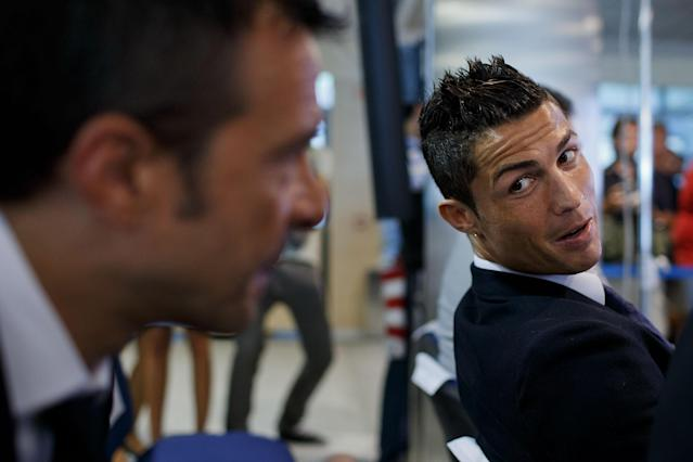 Cristiano Ronaldo's career has been overseen by super agent Jorge Mendes. (Getty)
