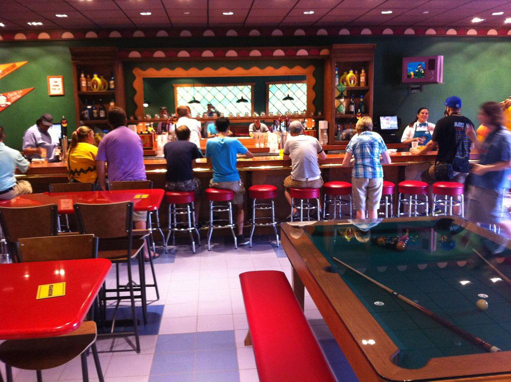 """If there isn't a number to prank-call Moe's Bar, then why did they even bother?<br /><br />See more photos from <a href=""""http://attractionsmagazine.com/"""" target=""""_blank"""">Orlando Attractions Magazine</a>"""