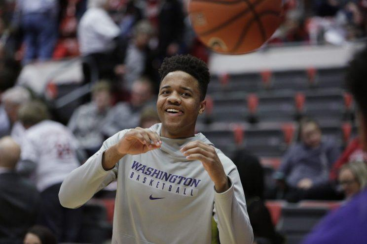 Markelle Fultz is projected to be the top pick in the draft. (AP)