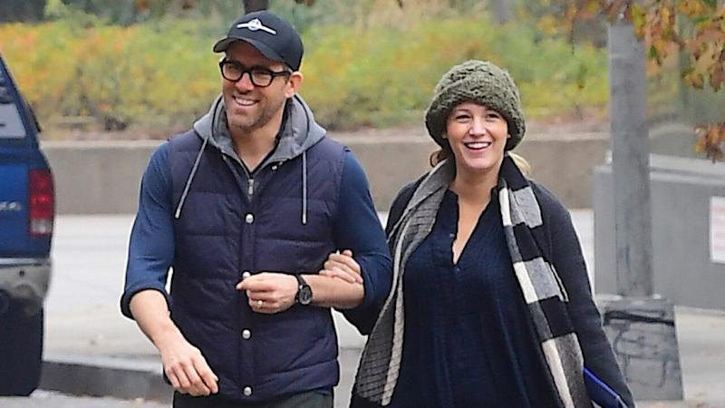 Blake Lively Steps Out With Ryan Reynolds for First Time Since Welcoming Baby No. 3