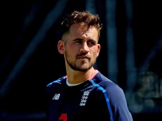 Alex Hales has been omitted from the World Cup squad (PA)