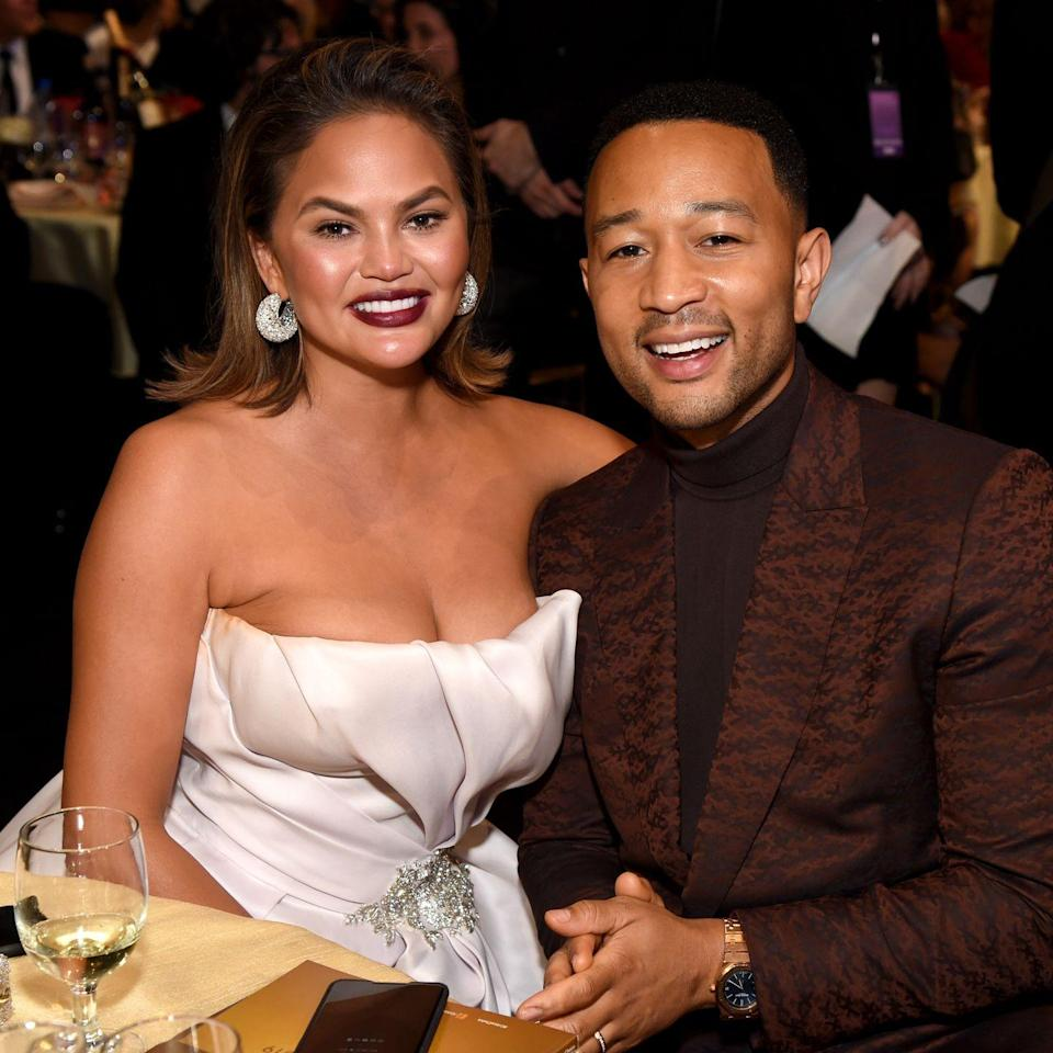"<p>Power couple John Legend and <a href=""https://www.womenshealthmag.com/life/a22840523/chrissy-teigen-body-image-interview/"" rel=""nofollow noopener"" target=""_blank"" data-ylk=""slk:Chrissy Teigen"" class=""link rapid-noclick-resp"">Chrissy Teigen</a> welcomed their daughter, Luna Simone, in April 2016. Chrissy and John welcomed a son, Miles, in May. </p>"