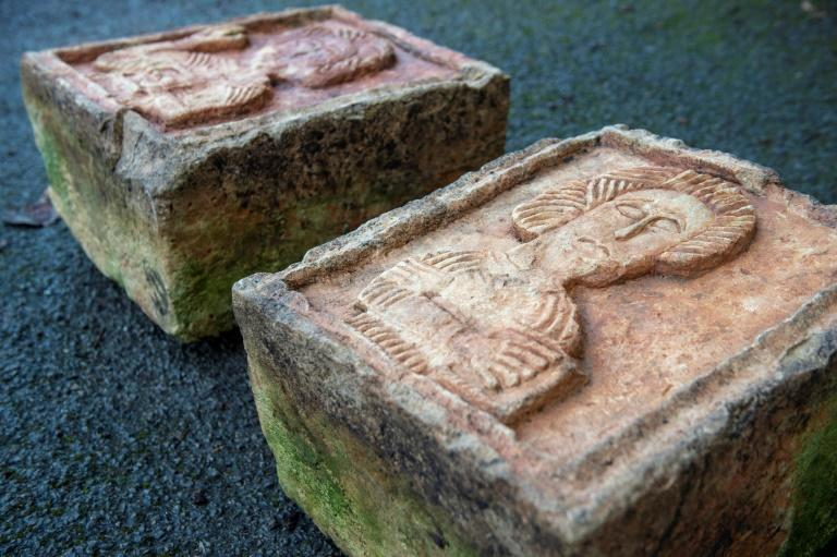 The two stone carvings were snatched in 2004 from the Santa Maria de Lara church in northern Spain