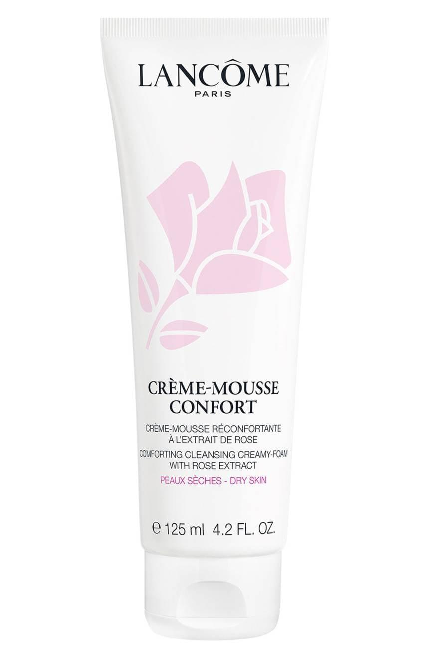 <p>If you like foaming washes, try this <span>Lancome Creamy Cleanser</span> ($24). The texture is mousse-like and foams into a supercreamy texture, and it contains nourishing rosehip oil to keep your skin fresh and soft.</p>