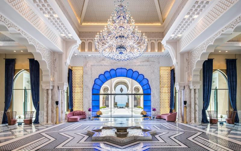 One of this month's hottest hotel openings is Rixos, a lavish new property in Abu Dhabi - ABACApress/Alex Jeffries
