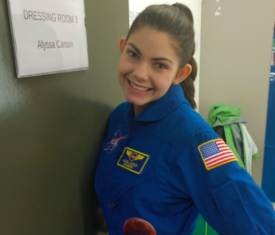 Alyssa Carson is hoping to be the first person on Mars [Photo: Instagram/Nasablueberry]