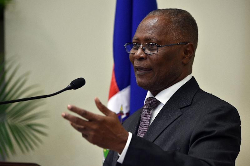 Haitian Provisional President Jocelerme Privert, pictured, took power earlier this month following the departure of Michel Martelly, after a vote to choose his successor was postponed over fears of violence