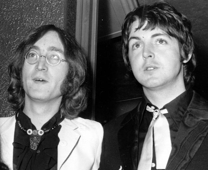 18th July 1968: Fans gushed over the duo's resemblance to their fathers (Photo by Michael Webb/Keystone/Getty Images) (Keystone/Getty Images)