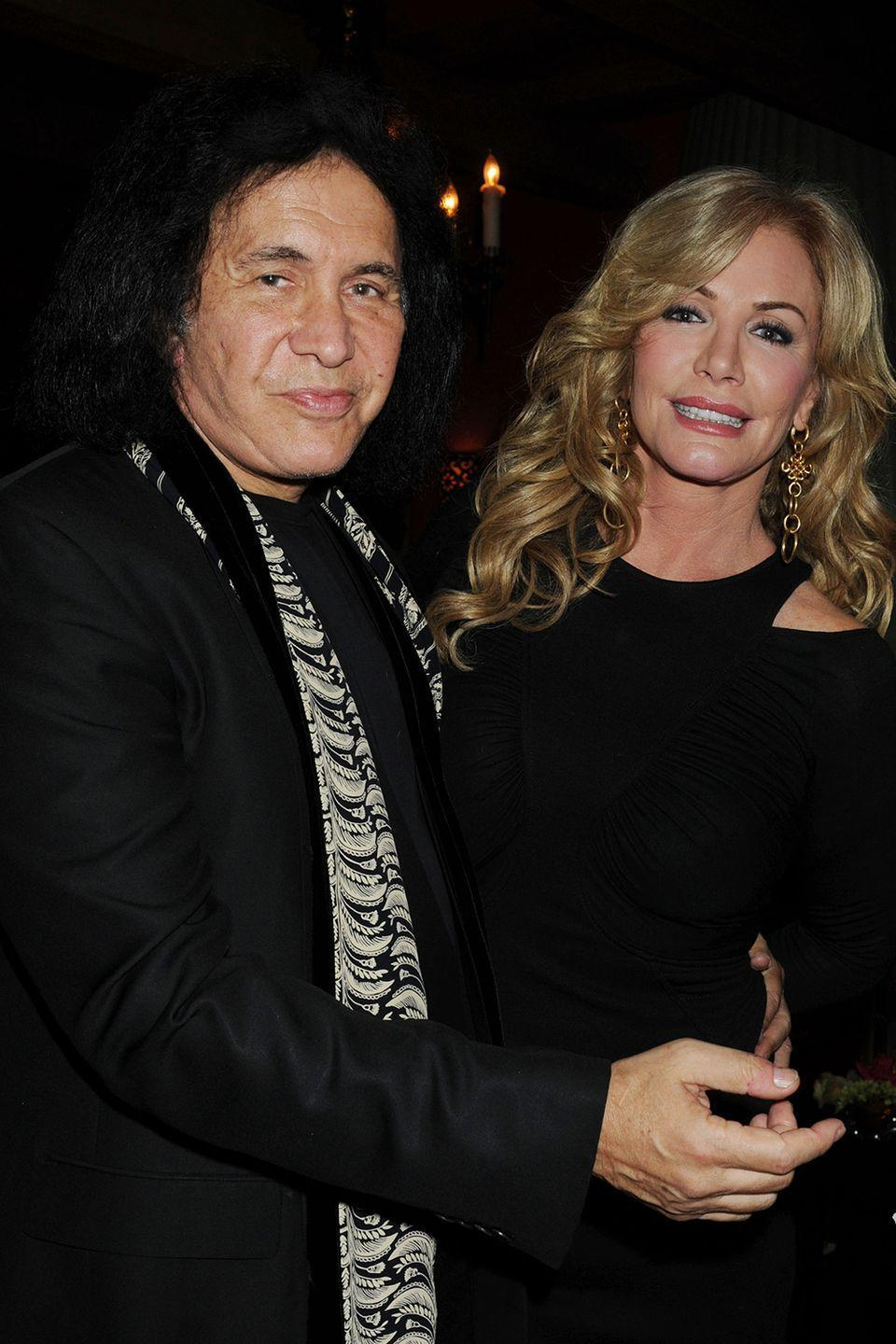 """<p>Interviewer Joy Behar shows a clip of her talking with Alice Cooper about the potential 5,000 women Simmons has been with. After the clip, Behar jokes, """"How's your back, Gene?"""" and he answers with a joke, """"My back is very good, my 'schmeckle,' not so much."""" <a href=""""https://www.youtube.com/watch?v=bBc0am1CXPY"""" rel=""""nofollow noopener"""" target=""""_blank"""" data-ylk=""""slk:Tweed got really pissed"""" class=""""link rapid-noclick-resp"""">Tweed got really pissed</a> at his comment, hit Simmon's arm, and walked out of the interview.</p>"""
