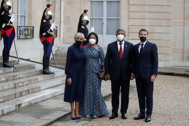 French President Macron chairs a summit on development in Africa