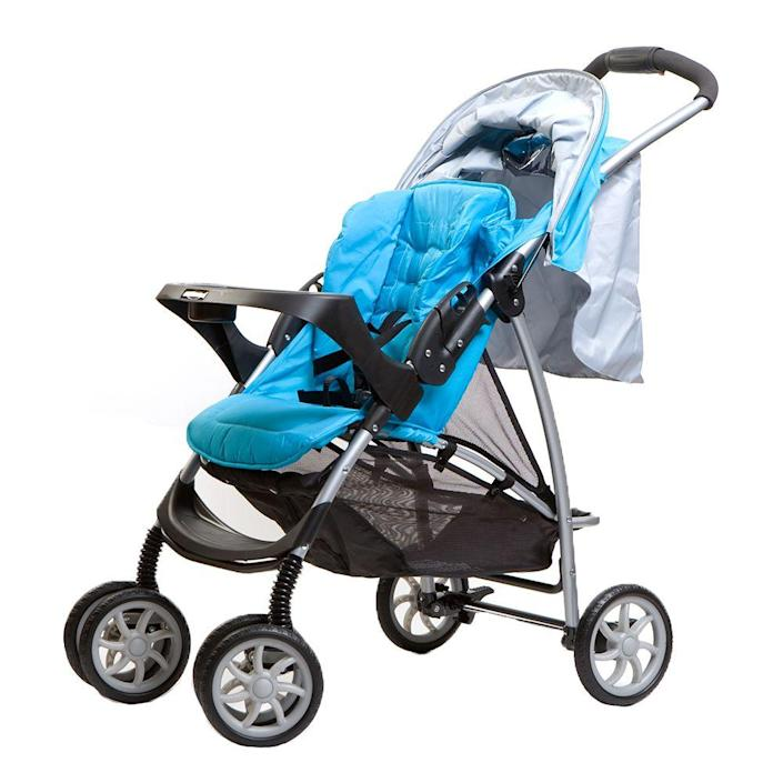 <p>Target sells baby gear, but when it comes to the products that require the best safety features (like strollers and car seats), we'd recommend going right to the biggest brands in baby gear. </p>