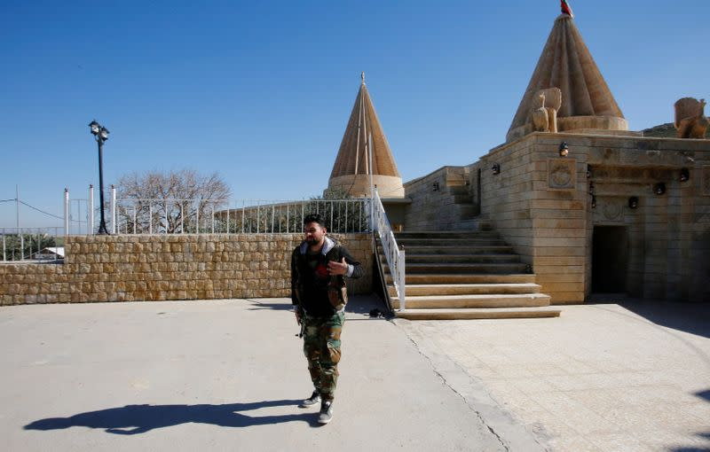 For Iraq's persecuted Yazidis, return plan is fraught with risk