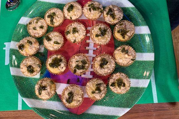 PHOTO: Chef Jessica Tom's cornbread muffins with sweet and spicy streusel. (ABC News)