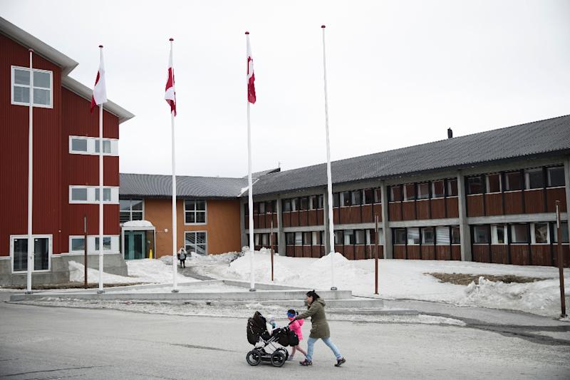 The Greenland County Council Hall in the capital Nuuk, where the government says it aims to eradicate sexual abuse of children by 2022